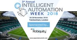 Intelligent Automation Week 2018