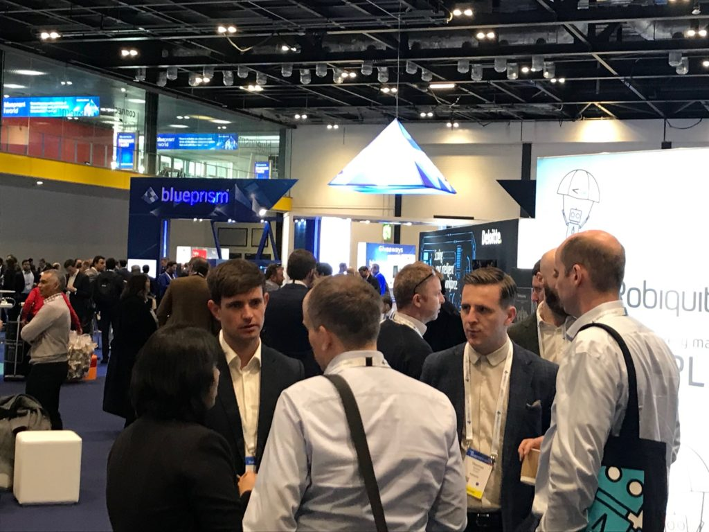 A view of Blue Prism World 2019