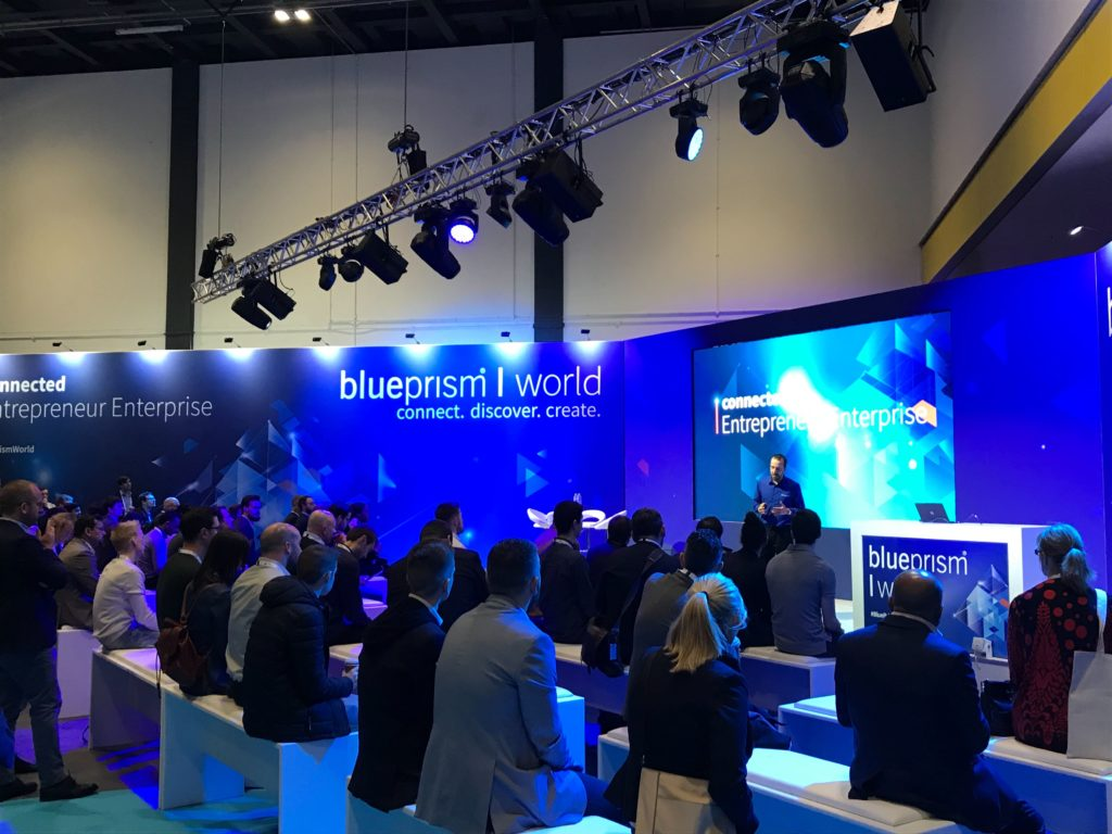 Blue Prism World, connect, discover, create